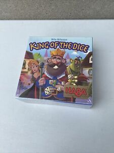 HABA King of The Dice - A Tricky Skill and Luck Competition Game