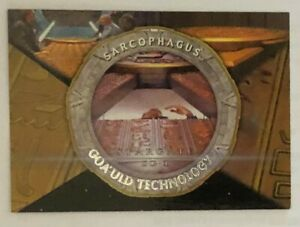 Stargate SG-1 Season 4  Goa'uld Technology SARCOPHAGUS Insert Card G6