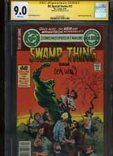 DC Special Series #17 CGC 9.0 SS Len Wein SWAMP THING Bernie Wrightson 1979