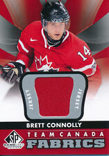 2012/13 SP Game Used TC-2 Brett Connolly Authentic Fabrics Team Canada Insert