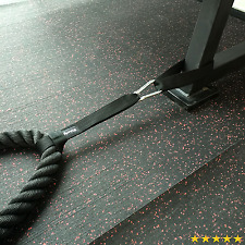 Anchor Strap Kit (Pair) for Battle Rope Training by Ignite Fitness, Great Addit