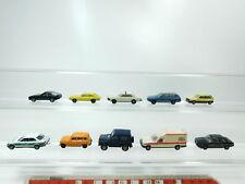 BH71-0,5# 10x Herpa H0/1:87 PKW: Ford Taxi+BMW Polizei+Opel+Mercedes etc 2. Wahl