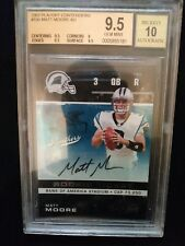 2007 matt moore playoff contenders RC auto 9.5 beckett