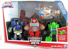 Transformers Rescue Bots Griffin Rock Team 4-pack Blades Boulder Chase Heatwave