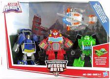 Transformers Rescue Bots Griffin Rock Team 4-pack Blades Boulder Chase Heatwave