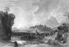 China COTTON PLANTATION NINGPO NINGBO Zhaobao Mountain, 1842 Art Print Engraving