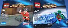2x LEGO DC Comics Minifiguren! PLASTIC MAN et MARTIAN MANHUNTER Neuf dans sa boîte