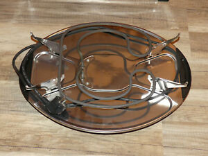 DE SINA Mod-RA7 Raclette Fondue  mit defekter Grillplatte