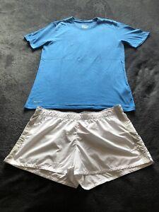 Nike Herren Laufhose Running Gr. M + Shirt Gr. M