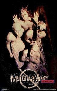 Mudvayne 2001 Covered in Mud Poster 22.5 x 34.5