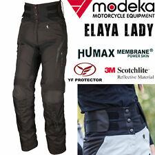 MODEKA Damen Motorradhose ELAYA LADY High-Waist Stretchbund Protektoren Gr. 44