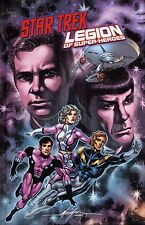 Star Trek/Legion of Super-Heroes HC tedesco (US 1-6) Variant-Hardcover lim.222