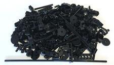 LEGO Black TECHNIC Bricks Mixed Bulk Lot 100s of Pieces GOOD VARIETY of Parts