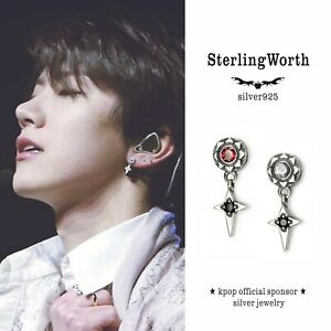 STERLINGWORTH KPOP NCT TEN silver925  silverearring menssilver unisexearring