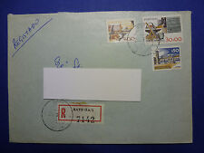 LOT 12697 TIMBRES STAMP ENVELOPPE CINEMA TV PORTUGAL ANNEE 1980