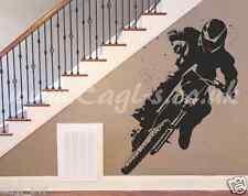 Vinyl wall art MOTOX MOTORCROSS RACER Decal Wall or van sticker