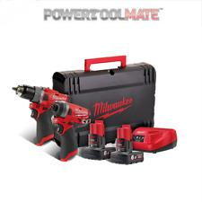Milwaukee M12FPP2A-602X 12 volt Power Pack 2 x 6ah Batteries / Charger / Case