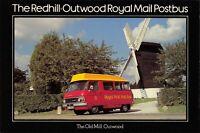Postcard 1979 FDI Redhill to Outwood Royal Mail Postbus Windmill Dodge MINT 28X