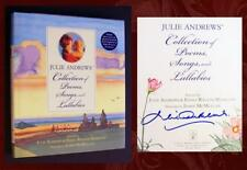 JULIE ANDREWS SIGNED COLLECTION OF POEMS, SONGS & LULLABIES w CD, Event Ticket!