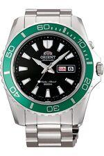 Orient Sports Mako XL 44mm Automatic Men's Watch Tag + Date Fem75003b9 Steel
