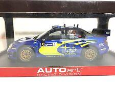 Subaru Impreza WRC 2005 Rally Mexico #5 Mills/Solberg AUTOart Racing 1:18 80592