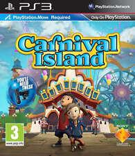 CARNIVAL ISLAND PS3 MOVE GIOCHI (in ottime condizioni)