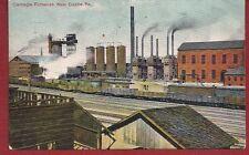 1909 Postcard Carnegie Furnace Factory in New Castle PA Pennsylvania