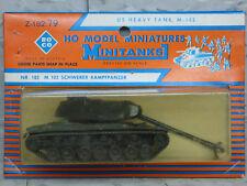 (New) 1/87 Roco Minitanks Modern Us M-103 Heavy Tank Lot #1910