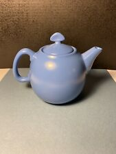 Chantal Blue Ceramic Teapot