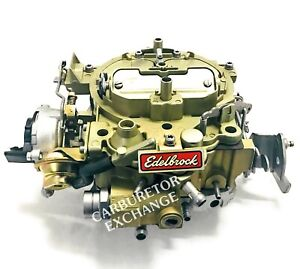 1904 Edelbrock Quadrajet Remanufactured Carburetor 795 CFM