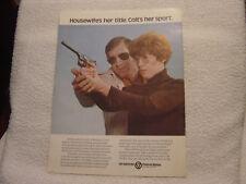 Colt Arms housewife w Woodsman brochure catalog