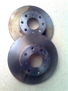 Rover 200 214 400 414 1,4 Bremsscheibensatz vorne Motorcraft 1139467 EBT 1027