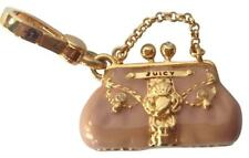 JUICY COUTURE Pink Status Bag Charm Purse Handbag Enamel NEW IN BOX Retired