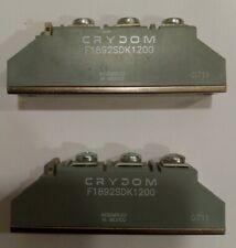 2 Nuovi f1892sdk1200 modulo tiristore crydom New 2-piece crydom thyristor module