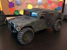 Vintage Tamiya Hummer Humvee Army Truck 58154 ARTR