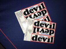 Devil adhésif autocollant sticker arceau