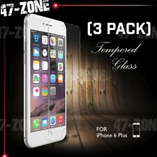 "For Apple iPhone 6 6S Plus 5.5"" Clear Tempered Glass Screen Protector 3 PC"