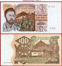 (com)  GUINEA BISSAU  -  100 PESOS 24.9. 1975  -  P 2  -  XF++
