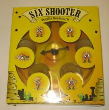 Drinking Game  - Six Shooter Tequila Roulette game - New