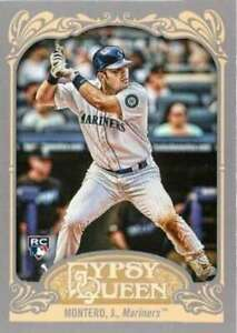 2012 Topps Gypsy Queen #1a Jesus Montero Mariners NM-MT