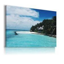 THAILAND BEACH OCEAN ISLAND Perfect View Canvas Wall Art Picture AB14 X MATAGA
