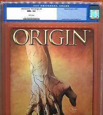 Wolverine: The Origin 2 (9.6 CGC) Origin of LOGAN Andy Kubert Art