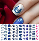 Indianapolis Colts Football Nail Art Decals - Salon Quality