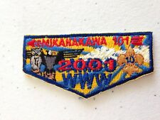 OA (BSA) Mikanakawa Lodge #101 - X14 Mini-Flap - 2001 NJ