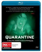 Quarantine NEW B Region Blu Ray