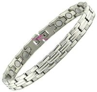 Female Magnetic Bracelet Power Health Ladies Bio Energy Armband / Wristband