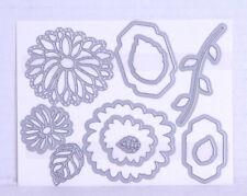 """Stampin' Up! Framelits Stanzenset """"Blumenkreation"""", NEU Blüten, Blätter"""