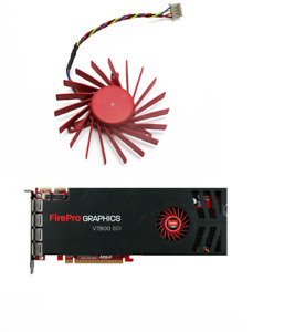 Fan For AMD FirePro V7900 ATI HD4850 HD3850 HD4830 Graphics Card PLD06010B12HH