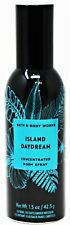 Bath & Body Works Concentrated Room Home Spray 1.5 oz New - Island Daydream
