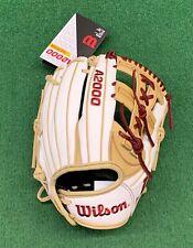 """Wilson A2000 11.75"""" FP75SS SuperSkin Fastpitch Softball Infield Glove"""